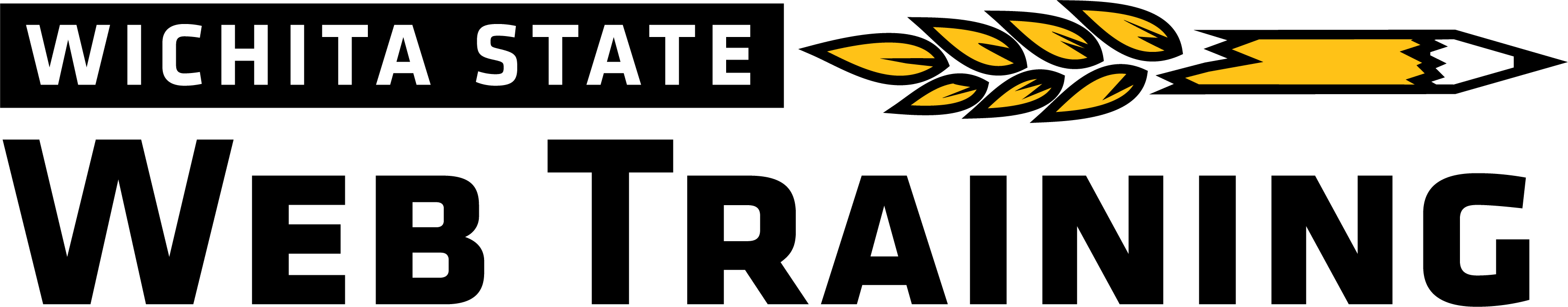 Wichita State Web Training Logo
